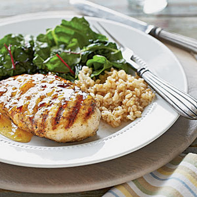 Spicy Chicken with Orange-Chipotle Sauce