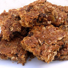 Choc Chip & Oat Slice