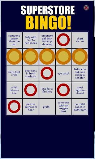 Superstore Bingo Free