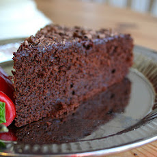 Chili Chocolate Orange Cake