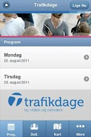 Screenshot of Trafikdage