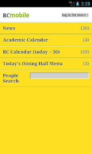 Randolph College Mobile - screenshot