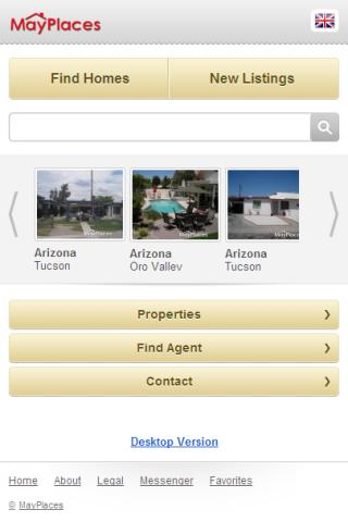 MayPlaces Real Estate Search