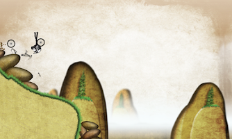 Screenshot of Stickman Downhill