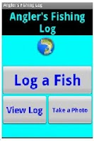 Screenshot of Angler's Fishing Log