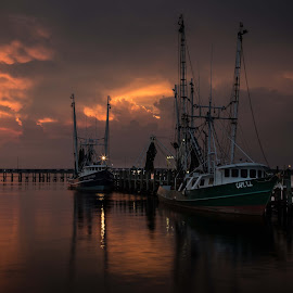 Capt TJ by Ron Maxie - Transportation Boats