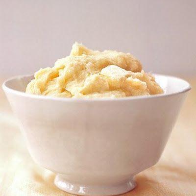 Mashed Parsnips and Potatoes