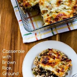Ground Turkey And Brown Rice Casserole Recipes