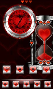 How to get Red Valentine Clock 1.0 mod apk for pc