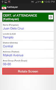 Katibayan - screenshot