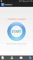 Screenshot of HiroMacro Auto-Touch Macro