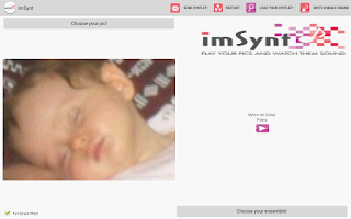 Screenshot of imSynt-image Synesthesia FREE!