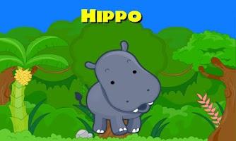 Screenshot of Peekaboo Safari for Kids
