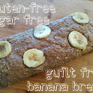 Gluten Free Banana Bread (sugar Free, Vegan, Clean Eats)