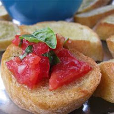 Bruschetta with Shallots