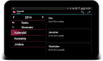 Screenshot of Svátky