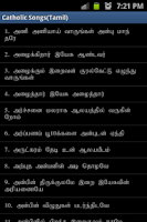 Screenshot of Tamil Catholic Song Book