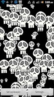 Screenshot of Laughing Skulls DEMO Wallpaper