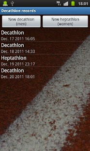 Decathlon Records - screenshot
