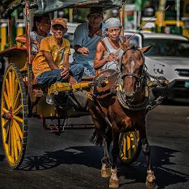 tartanilla by JO Villacorta - Transportation Other ( #cebucity, #philippines, #carbonmarket )