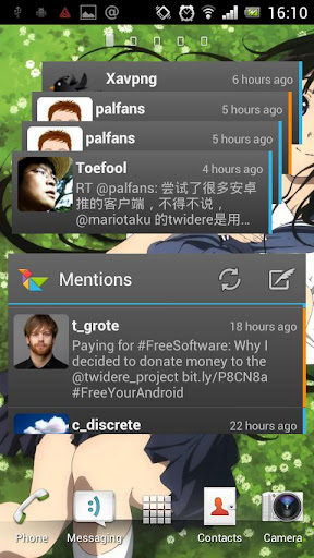 【免費工具App】Twidere Home Screen Widgets-APP點子