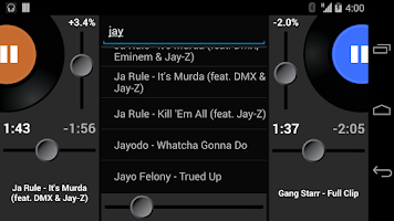 Screenshot of Party Mixer - DJ player app