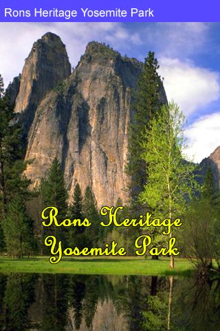 Rons Heritage Yosemite Park