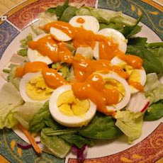 French Salad with Russian Dressing