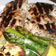 Wanna Be Greek Grilled Chicken Breasts