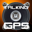 Talking GPS icon