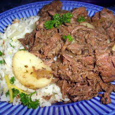 Slow-Cooked Beer-Braised Beef