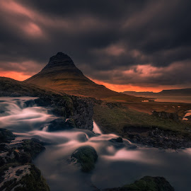 Into the Wild by Daniel Herr - Landscapes Sunsets & Sunrises ( kirkjufellsfoss, kirkjufell )