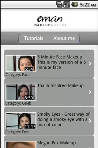 Eman Makeup Tutorials Preview