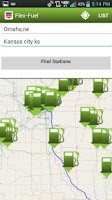 Screenshot of Flex-Fuel Station Locator