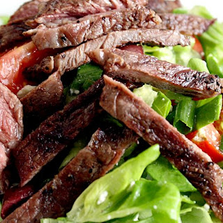 Canada Day Steak Salad