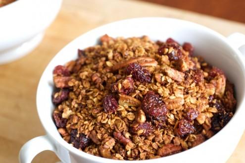 Cherry Pecan Granola