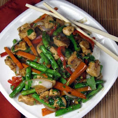 Thai Chicken and Vegetable Stir-fry