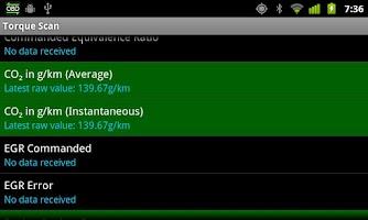 Screenshot of TorqueScan (Torque OBD Plugin)