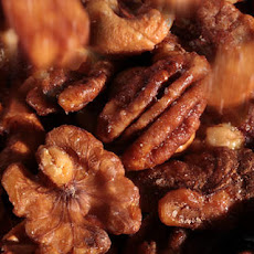 Five-Spice Glazed Nuts Recipe