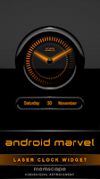 Screenshot of Laser Clock ANDROID MARVEL