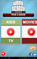 Screenshot of Word Search Little Books