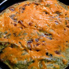 Onion, Garlic and Basil Frittata