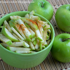 Granny Smith Apple Slaw Salad