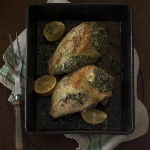 Herbed Cheese & Kale-Stuffed Chicken Breasts