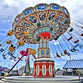 Swing by Gary Ambessi - City,  Street & Park  Amusement Parks