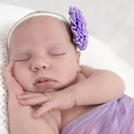 by Helen Bagley - Babies & Children Babies ( baby portrait, newborn photography, newborn shoot, baby girl, sleeping, newborn )