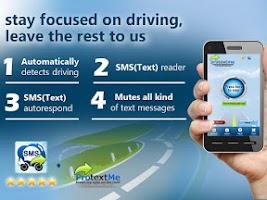 Screenshot of ProtextMe SMS text Reader #1