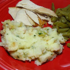Potato-Stuffing Casserole