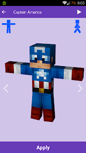 Skins for Minecraft: MineSkins APK baixar