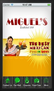Miguel's Fine Mexican Food - screenshot